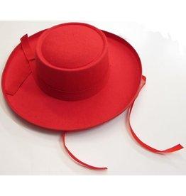 spaanse hoed rood