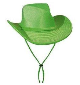 boland cowboyhoed velvet groen