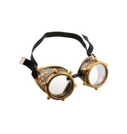 Funny Fashion gold goggles steampunk