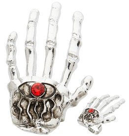 Widmann skeleton hand ring