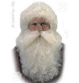 Carnival toys Sint/kerstman baard en pruik