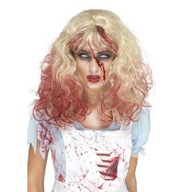Smiffys zombie bloody alice wig