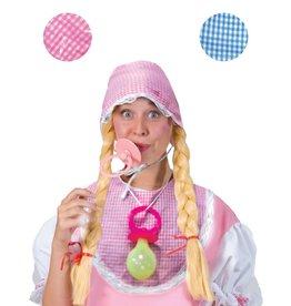 funny fashion/espa Baby set Muts, bavet en tutter Roze (roos)