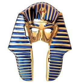 Widmann egyptian mask  Farao goud plastiek