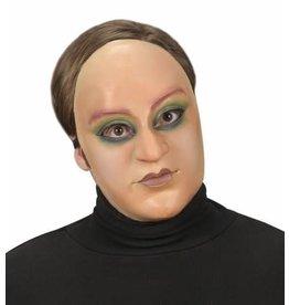 Masker geschminkte dame