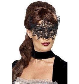 Smiffys masker kant zwart