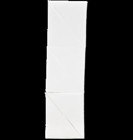 kryolan witte latex spons - 6 hoekjes