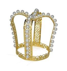 Funny Fashion kroon goud