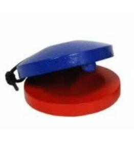 castagnetten blauw - rood