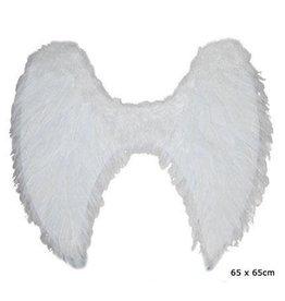 engelenvleugels wit 65 x 65 cm