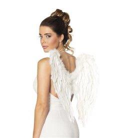 boland pluimen vleugels wit 50 x 50 cm