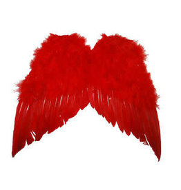 pluimen vleugel rood