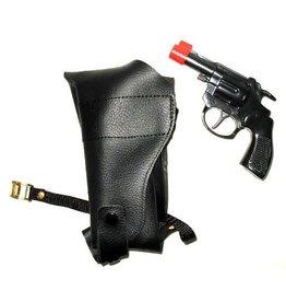 schouderholster met revolver