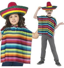 sombrero met poncho