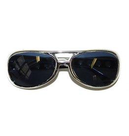 glitterbril groot