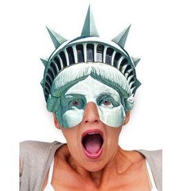 masker statue of liberty kartonnen masker