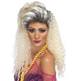 80's bottle blonde wig