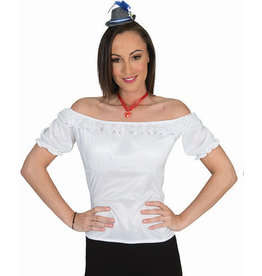Witte bloes Tirools