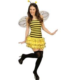 Bee M Bij kleedje met vleugels en diadeem