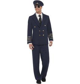 Pilot Piloot vest, broek en pet