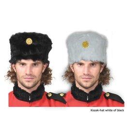 funny fashion/espa Kozak hat zwart/wit