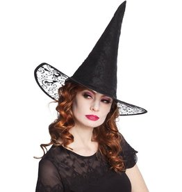 heksehoed Kiara zwart chique