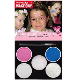 Fantasy Make-Up aqua make up prinses set