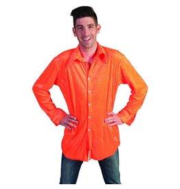 Hemd fluo oranje