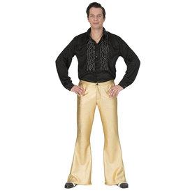 Funny Fashion Disco fever broek goud