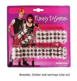 punk juwelenset