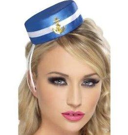 Sailor mini hat on clip