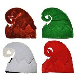 kabouter/elfenmuts wit of gekleurd