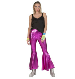 Funny Fashion Disco fever broek roze