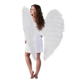 engelenvleugels 120 x 120 cm wit