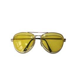 bril gele glazen