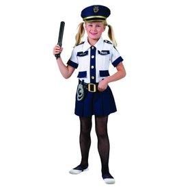 Funny Fashion politie meisje