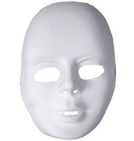 plastiek masker wit