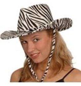 cowboyhoed velvet zebra