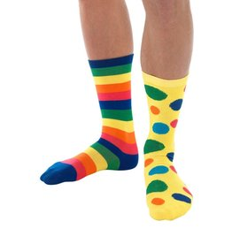 Smiffys Big Top Clown Socks