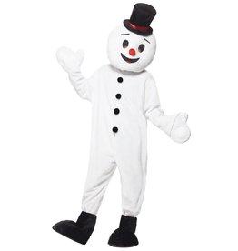 snowman mascotte costume