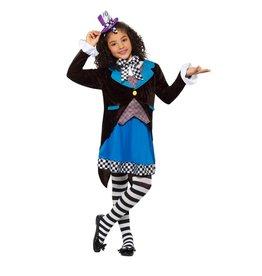 Smiffys Little Miss Hatter L(10-12)