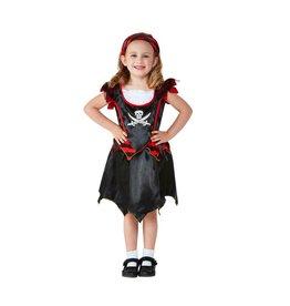 Smiffys Toddler Pirate Girl piraat