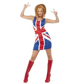 Smiffys Ginger Power Icon Spice Girl