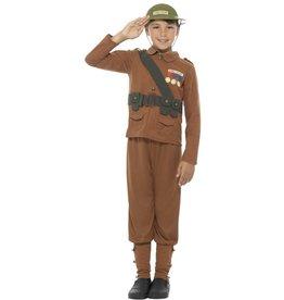 Smiffys Soldier leger soldaat