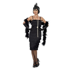 Smiffys Flapper Long Dress