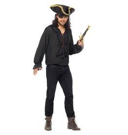Smiffys Pirate shirt Black