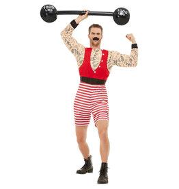 Smiffys Strongman Circus gewichtheffer