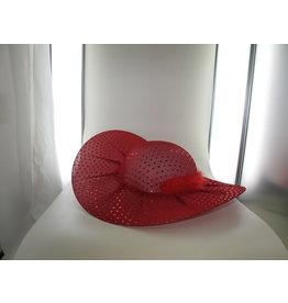 rode diva lady glitter hoed