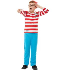 Smiffys Where's Wally Deluxe