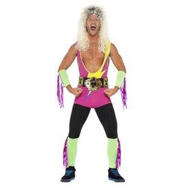 Smiffys Retro Wrestler Worstelaar